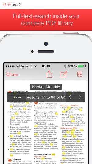 Screenshot PDF Pro 2 on iPhone