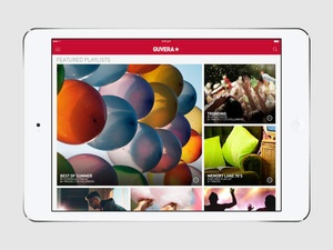 Screenshot Guvera Music on iPad
