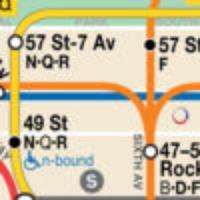 NYC Subway & Bus Map Calculator & Alerts