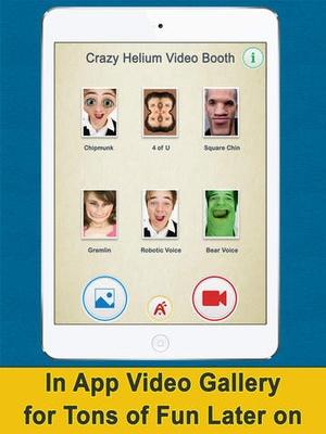 Screenshot Crazy Heliumbooth Free  on iPad