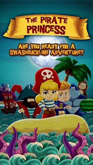 Screenshot The Pirate Princess ~ 3D Interactive Pop on iPhone