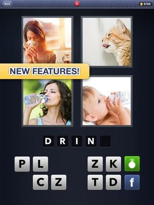 Screenshot 4 Pics 1 Word on iPad