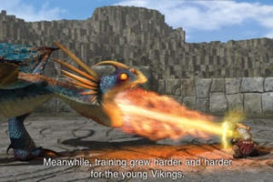 Screenshot How To Train Your Dragon on iPhone