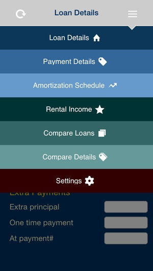 Screenshot Mortgage iCalculator on iPhone