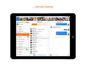 Screenshot Twoo on iPad