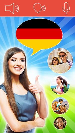 Screenshot Speak German FREE on iPhone