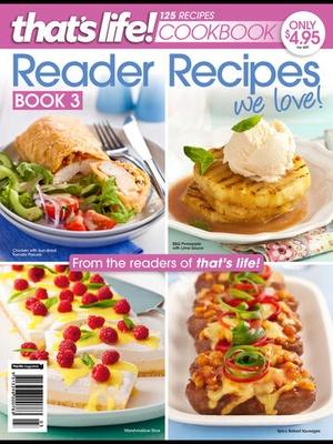 Screenshot that's life! Reader Recipes on iPad