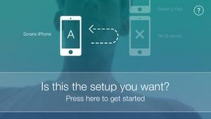 Screenshot Sprint App on iPhone