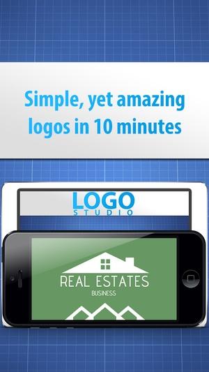 Screenshot Logo Studio Designer on iPhone