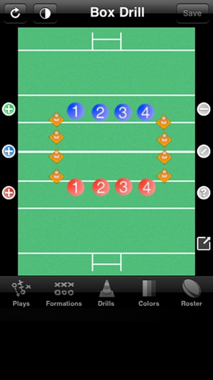 Screenshot Rugby Coach Pro on iPhone