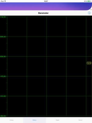 Screenshot Barometer plus Altimeter on iPad