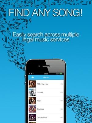 Screenshot Free Music Player: MixerBox 3 on iPad