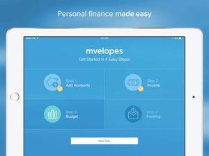 Screenshot Mvelopes on iPad