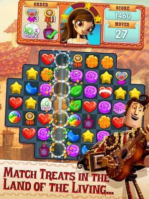 Screenshot Book of Life: Sugar Smash on iPad