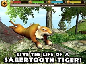 Screenshot Sabertooth Tiger Simulator on iPad