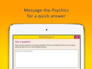 Screenshot Psychics Live TV on iPad