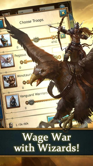 Screenshot Arcane Empires on iPhone