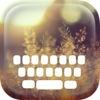 Custom Keyboard Blur Wallpaper Keyboard Design Themes