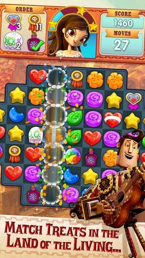 Screenshot Book of Life: Sugar Smash on iPhone
