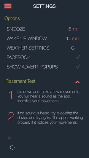 Screenshot Smart Alarm Pro 2 on iPhone