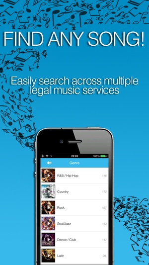 Screenshot Free Music Player: MixerBox 3 on iPhone