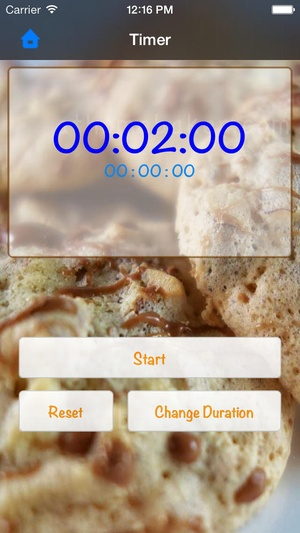 Screenshot At Home Baker on iPhone