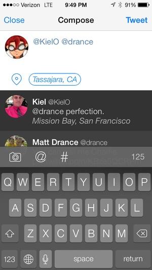 Screenshot Tweetbot 3 for Twitter on iPhone