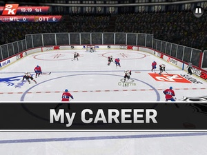 Screenshot NHL 2K on iPad