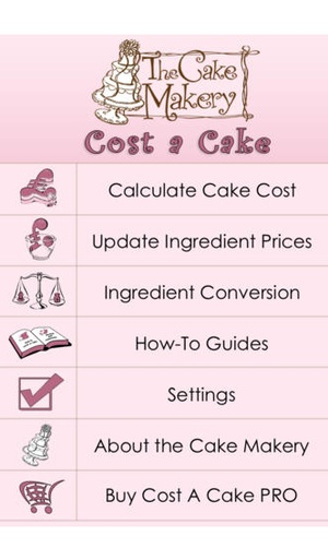 Screenshot Cost A Cake on iPhone