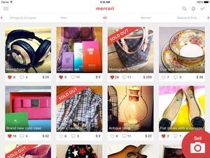 Screenshot Mercari: Anyone can buy & sell on iPad