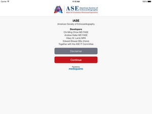 Screenshot iASE on iPad