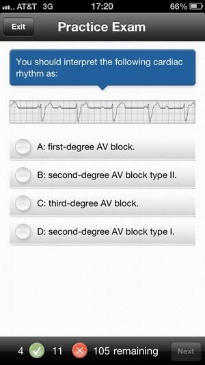 Screenshot Navigate TestPrep: EMS on iPhone