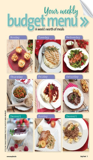 Screenshot Easy Food Magazine on iPhone