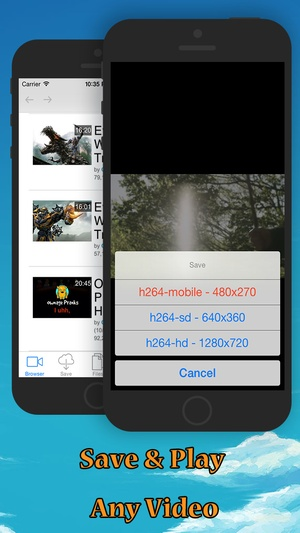 Screenshot Tube Free: Free Video Downloader, iDownloader & Video Editor for Metacafe on iPhone