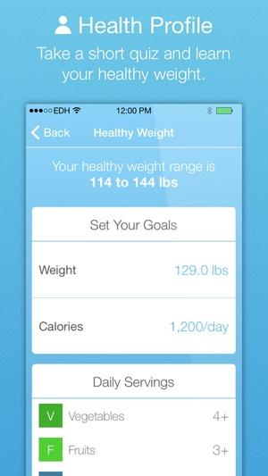 Screenshot Mayo Clinic Diet on iPhone