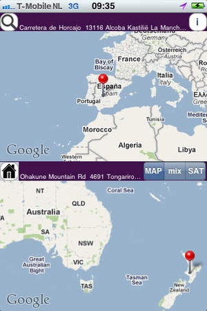 Screenshot AntipodeanLite on iPhone