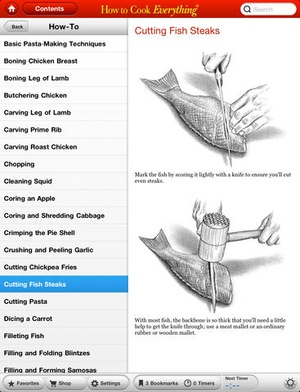 Screenshot How to Cook Everything on iPad