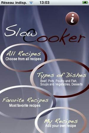 Screenshot iCooking Slow Cooker on iPhone