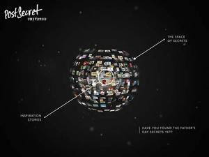 Screenshot PostSecret Universe on iPad