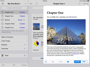 Screenshot Creative Book Builder on iPad