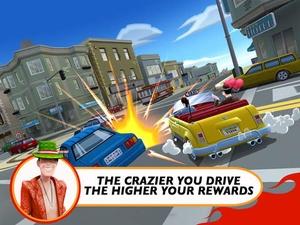 Screenshot Crazy Taxi™ City Rush on iPad