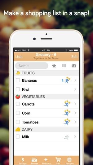 Screenshot Shopper Lite on iPhone