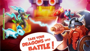 Screenshot Dragon Mania Legends on iPhone