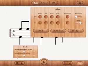 Screenshot Drum Beats for Beginners on iPad