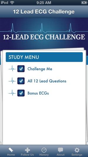 Screenshot 12 Lead ECG Challenge on iPhone