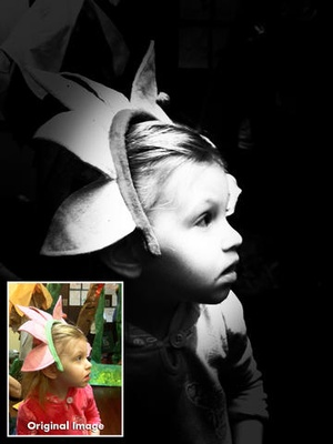 Screenshot Noir Photo on iPad