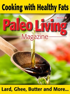 Screenshot Paleo Living Magazine on iPad