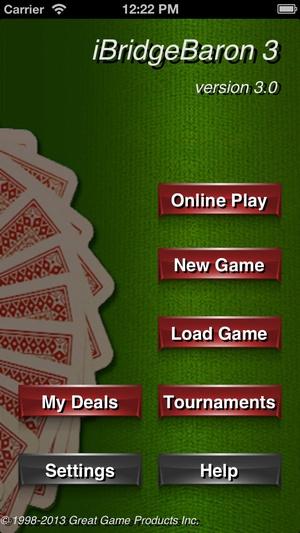 Screenshot Bridge Baron on iPhone