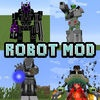 ROBOT MOD WITH GUN FOR MINECRAFT PC GUIDE EDITION