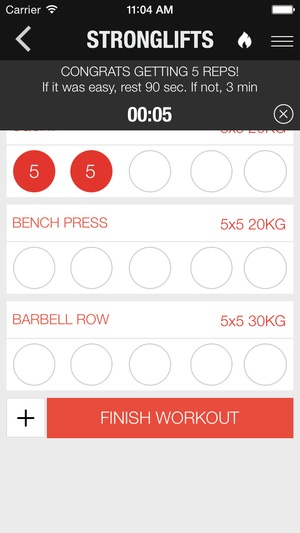 StrongLifts 5x5 Workout app downloads & alternatives